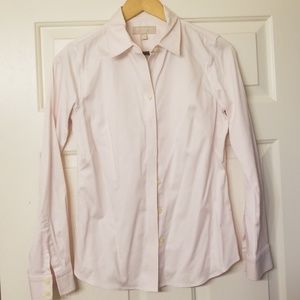 Pastel pink button down